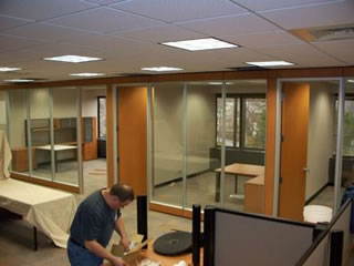 Technology for Business Furniture Install Customer